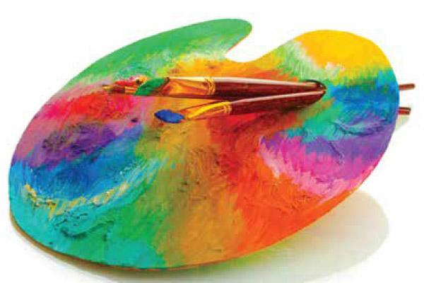 palette de couleurs personnalises